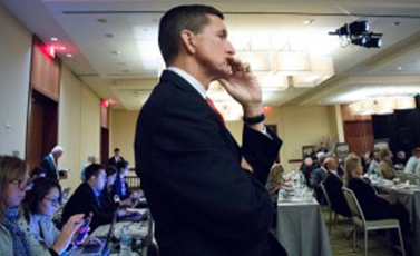 Does Flynn Exit Aid World Peace?
